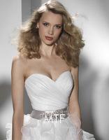 Free Shipping S665 Export Custom Wedding Dress Toast Bra 2013 Latest+100%Chiffon