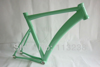 2014 LB727 Bianchi Green Aluminium Alloy Al6061 Track Bike Frame Fixie Bicycle Frame with VP Headsets Free Shipping
