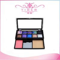 New Hot Natural Powder Eye Shadow Palette Foundation Blusher Shimmer Kit Tools Eyeshadow Pigment Makeup Drop shipping
