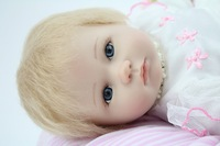 "12"" Baby Dolls Silicone Christmas Lovely Toy Little Girl's 12NPK6484Q Dolls Baby"
