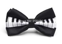 """Free shipping-Bow tie for Men Men's Unisex """"Piano Key"""" Pattern Tuxedo Dress Bowtie / Butterfly Brand New"""