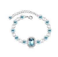Crystal Niceter N8080) accessories fashion bracelet Make with Swarovski Elements free shipping Wholesald and Retail For Woman
