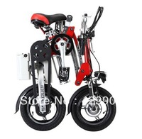 1 second folding electric bike rear disc brakes mini lithium electric bike. Portable E-BIKE