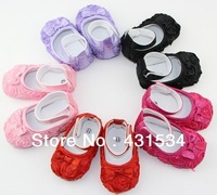 Free shipping  In Stock! Baby Girls Shoes, Todder pre-walker shoes infant baby flower soft sole shoes Little Spring  00022