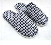 indoor home lovers floor slippers cotton linen slippers