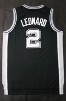 Free Shipping to all country!! Kawhi Leonard #4 Danny Green 2014 new jersey  Embroidered logo( all name, numbers stitched )