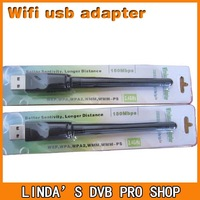 150Mbps wireless usb wifi adapter network card 802.11g\b\n high power wifi antenna