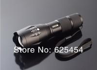Lanterna tactical flashlight 5 Mode 8000 Optic1x18650 battery waterproof high power flashlight CREE XM-L T6 LED