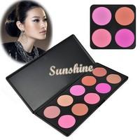 3 set/Lot Women Makeup Cosmetic Contour Shading Camouflage Concealer Powder Palette Press Powder 10 Colors/Set 6936