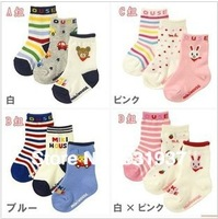Good quality  6pairs/lot wholesale free shipping ,100% Cotton Baby Socks,Kid's socks,