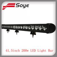 GUANG ZHOU 2013 new !!200W Cree led light bar,17000LM led off road bar lights