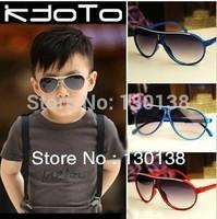 Free Shipping! Retail  Fashion child sunglasses male female child black sunglasses anti-uv baby sun-shading sun glasses