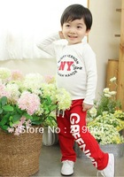 Free shipping! 2014 spring autumn clothing wholesale children pants for boys and girls trousers 5 pcs/lot BGK-261
