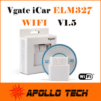 100% Original Vgate iCar ELM327 WIFI High Quality automotive scanning tool ELM 327 Car Diag Interface New-Arrival in May
