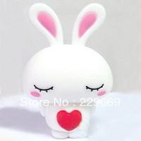 Usb flash drive cartoon usb flash drive rabbit lyrate rabbit, cartoon usb flash drive 1-32GB , pen drive, post free shipping