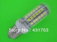 NEW  E27 E14 G9  5050 69LED Corn Bulb Light   LED Lamp 200V-240V 360 degree white / warm white ( high brightness )