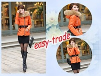 2013 new and hot sale! Women's fashion slim short style down sweater jacket coat MM-1205