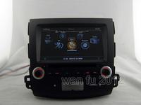 1080P A8 chipset S100 Platform DVD GPS navi headunit 3G/WIFI Internet 20 V-cdc F Mitsubishi Outlander(2006-2012) / Peugeot 4007