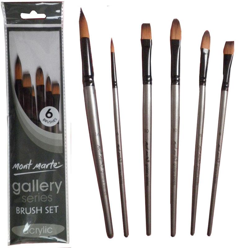 737 All New Best Acrylic Paint Brush Set