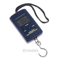 10g-40Kg Digital Hanging Luggage Fishing Weight Scale retail freeshipping,dropshipping wholesale