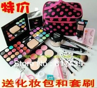 Makeup set 18 authentic full portfolio beginner Cosmetics Makeup Palette Cosmetic brush set to send