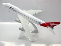 Qantas Airways Ltd.B747-400 QANTAS,16cm,metal airplane models,airplane model, airbus prototype machine free shipping