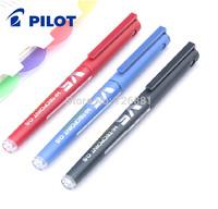 Free Shipping 12pcs Baile Pilot Pen BX-V5 ball pen Pilot V5 unisex pen 0.5mm/Pilot Gel pen
