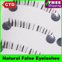 New 10 Pair X19 Black Color False Lower Under Bottom Eyelashes Eyelash Eye Lashes Handmade Natural False Eyelashes