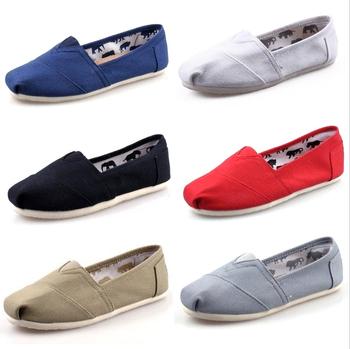 Новый стиль бесплатная доставка холст туфли женщины и мужчины холст туфли мода мокасины на плоской подошве женская espadrille кроссовки размер 35 - 45