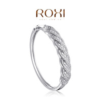 ROXI  Retro Bangles platinum plating,elegant Environmental Jewelry,Exquisite workmanship,free shipping1050041200
