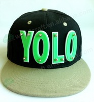 NEW Style Fashion YOLO Adjustable Baseball Cap Snapback Hip-Hop Hats fashion hip-hop caps wholesale