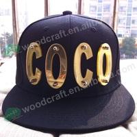 M 3D letter hat Handmade crystal hiphop cap rivet hiphop hat baseball cap Mario spike fitted cap snapbacks basketball caps
