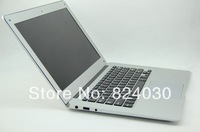 14 inch Ultrabook Laptop PC Notebook Computer Intel Atom D2500 1.86Ghz dual core 2GB DDR3 320GB HDD Webcam