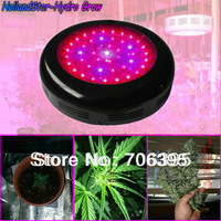 Best Hydroponic LED Grow Light 135w UFO,with 45 pcs LEDs 3w,9-Band&660nm for veg and flowering