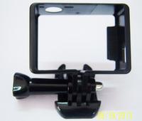 F05443 OEM Camera Standard Side Border Frame Mount Protective Housing for GoPro HD HERO 3  and Hero 3+ Camera + FS