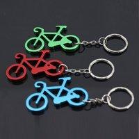 Wholesale Multifunctional Aluminum Alloy Bike Keychain Bottle Opener Key Ring Promotion Gift Factory Outlet Xmas Gift.