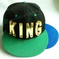 spikes acrylic letters KING baseball caps snapback hats High quality fashion cap men