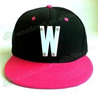 Hot Fashion Baseball Hat Hip Hop Punk Style Dance Hat W letter Acrylic Cap spikes women's hats