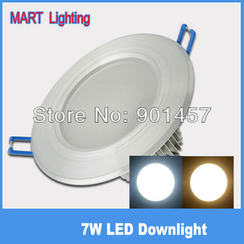 Ultra bright 7W COB LED Ceiling spot down light  high power warm cabinet  lamp AC110-240V