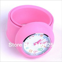W7 Min.Order $15 (Mix Order) Free Shipping Wholesale Retro 2013 Arrival 11 Colors Rubber Children Watch