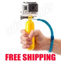 Best sell GoPro Bobber Floating Handheld   Floaty Grip  Stabilizer Bobber Monopod for GoPro Hero 4/3+/Hero3/Hero2/ SJ4000/SJ5000