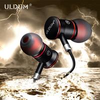 ULDUM high end super bass sound earphone with microphone