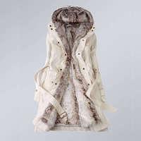 2013 Hot Women thicken fleece Warm Coat Lady Outerwear Fur Jacket Fashion New free  shipping