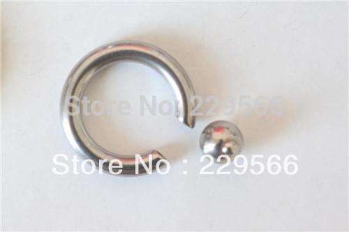 piercing jewelry flesh tunnel pa bcr 1 pc