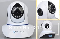 Free shipping VStarcam T7838WIP 1.0MP 720P Wifi webcam pt network ip camera security ip camera for baby monitor with software