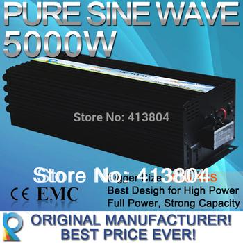 5000W Pure Sine Wave Solar Inverter, Power Supply DC TO AC power inverter,high quality full power best design