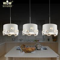 lighting LED chandelier stylish restaurant bar crystals modern crystal lamp lighting postmodern creative personality