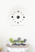 [listed in stock] - Acrylic Crystal Quartz Modern Art Coffee and Tea Wall Clock