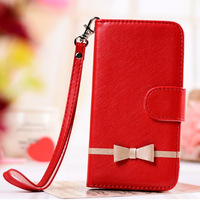 New Fashion Genuine Leather Wallet Case Cover for iphone 4 4S Flip with Stand 2+Card Holder Protector Luxury Valuable E506