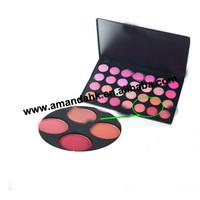 24pcs/lot  Exclusive wholesale convex 28 color powder blush makeup set blush palettes